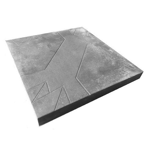 Плитка «Квадрат Зубок» Размер: 300х300х30;