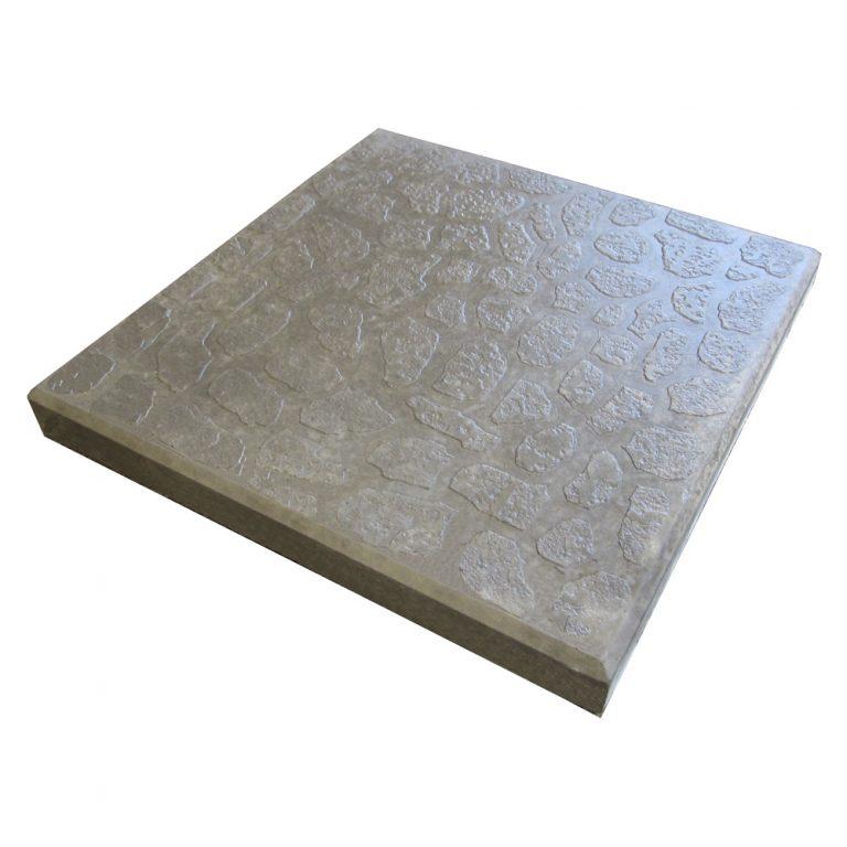 Плитка «Квадрат Галька» Размер: 300х300х30;