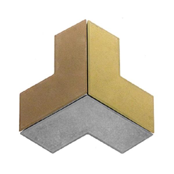 Плитка «Бумеранг» Размер: 265x265x40;